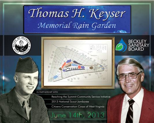 Thomas Keyser Memorial Rain Garden