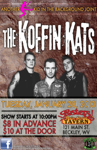 KOFFIN KATS LIVE IN BECKLEY JAN 28 2014