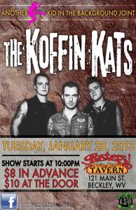 KOFFIN KATS LIVE IN BECKLEY JAN 28 2014